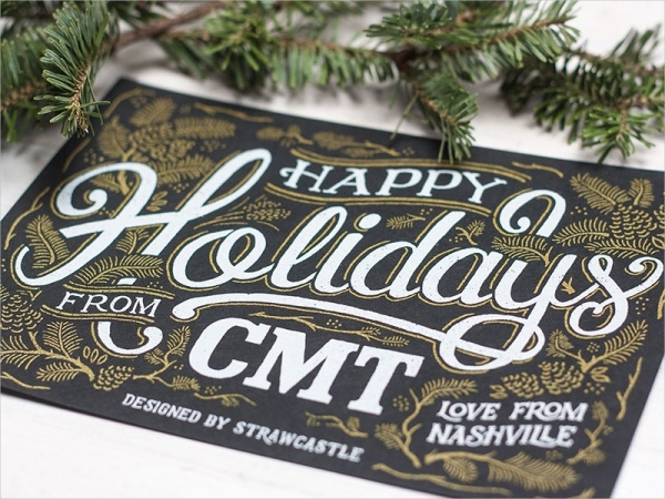 Happy Holidays – Postcard Design