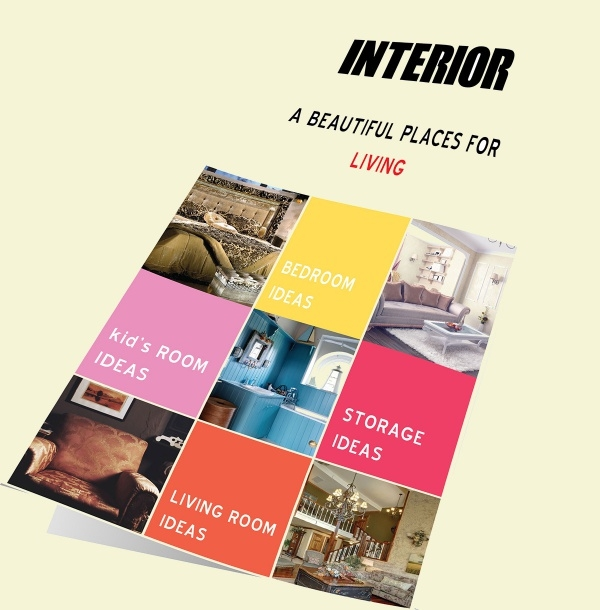 High Quality Interior Brochure Design
