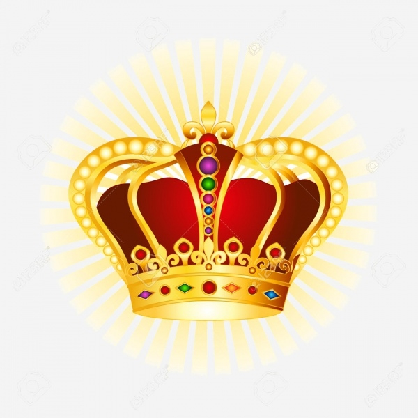 High Quality Sparkling Crown Clipart