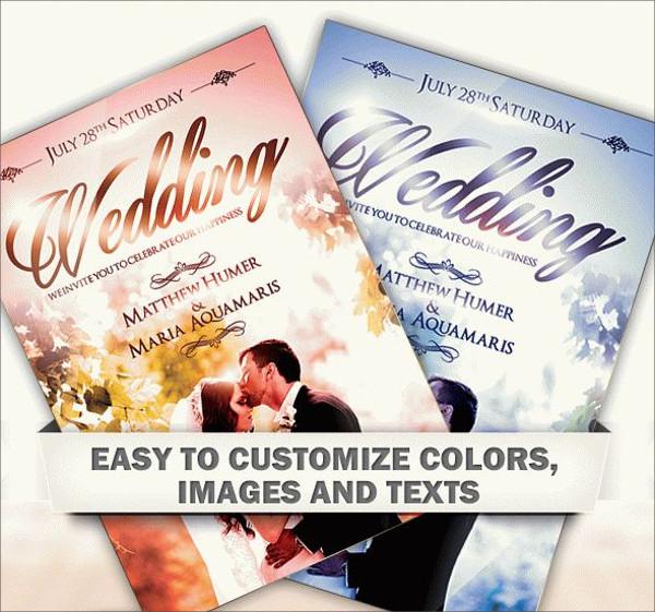 21 Wedding Flyer Templates PSD Vector EPS JPG Download – Wedding Flyer