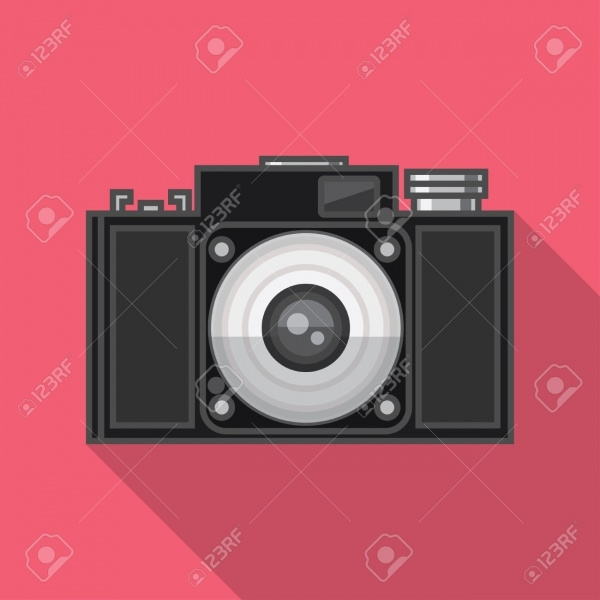 Highly Customized Camera Illustration