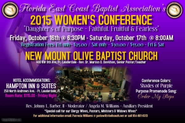 Highly Editable Women's Seminar Flyer
