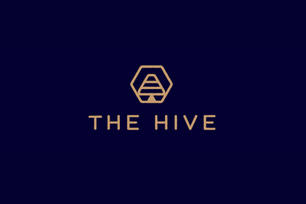 Hive Bee Logo Design
