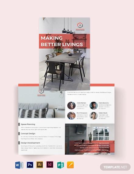 37 Interior Design Brochures Psd Vector Eps Jpg