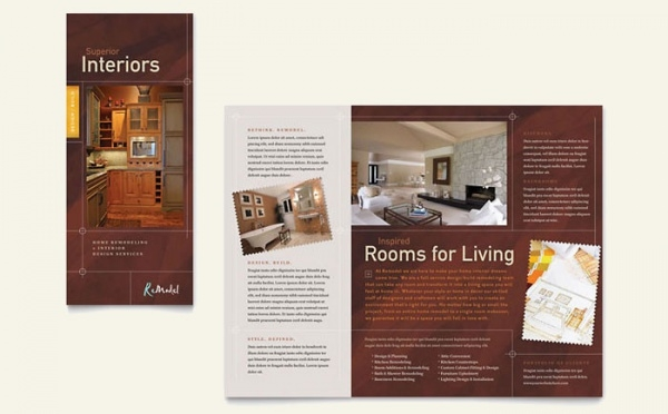 Home Remodeling Tri Fold Brochure Template