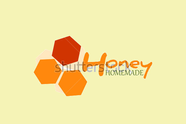 Homemade Honey Logo Design