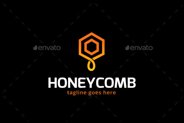 Honey Comb Logo Design