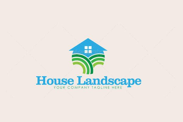 House Landscaping Logo Design