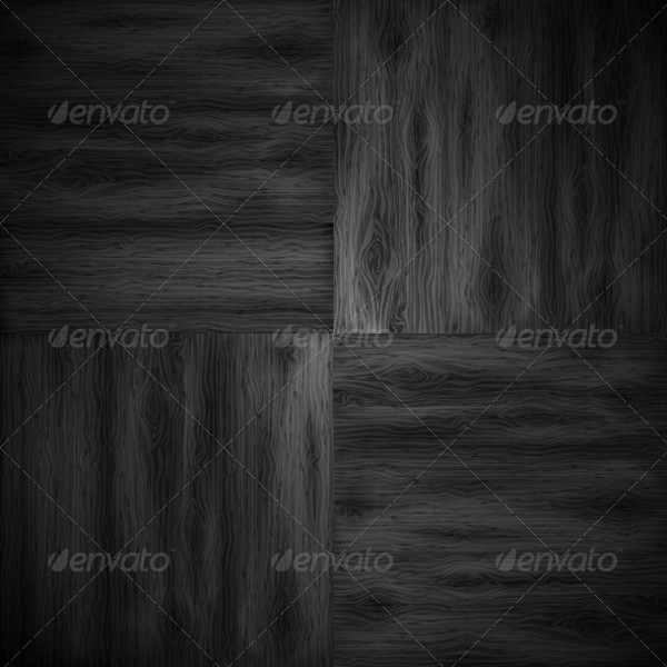 Illustrated Parquet Vector Texture
