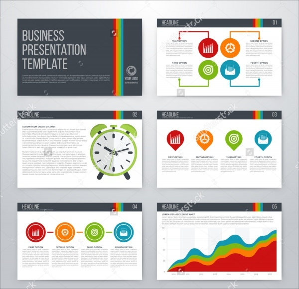 Infographics Business Presentation Template