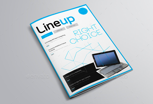 Information Technology Magazine Template