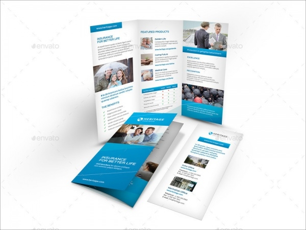 Insurance Company Brochure Designs