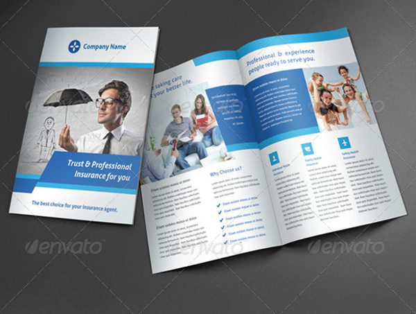 Insurance Corporate Brochure Design