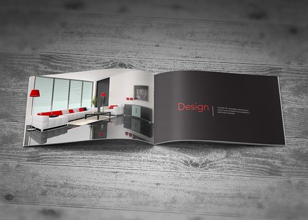 interior architecture design brochure