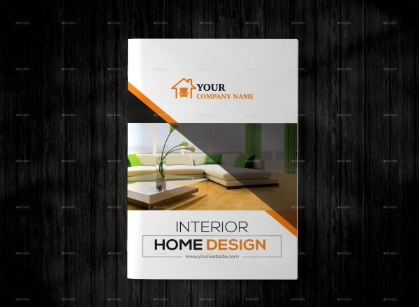 Interior Design A4 Brochure
