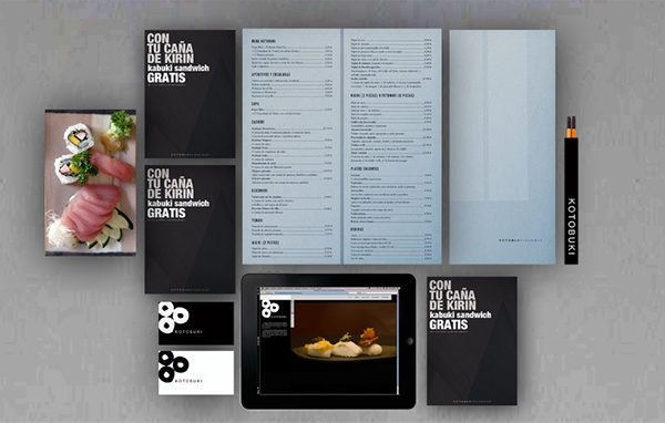 Japanese Restaurant Menu Design