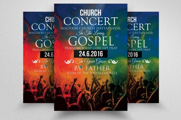 Jesus Gospel Church Flyer