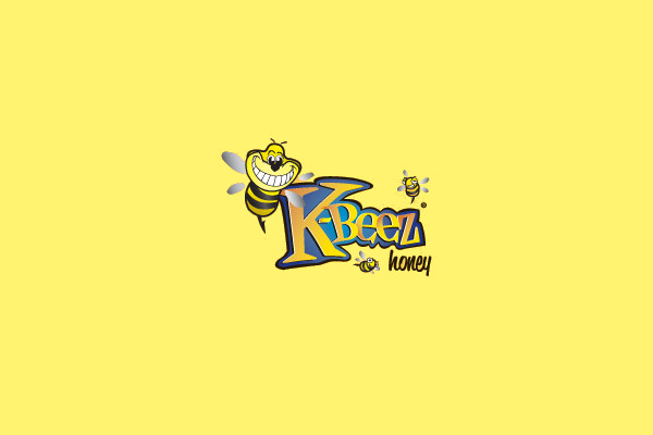 K - Beez Honey Logo Design