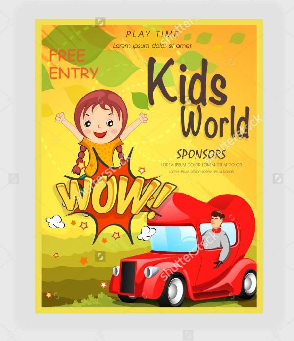 Kids Outdoor Park Elegant Flyer