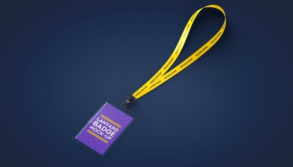 Lanyard Name Tag Design