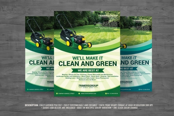 Lawn Multipurpose Flyer