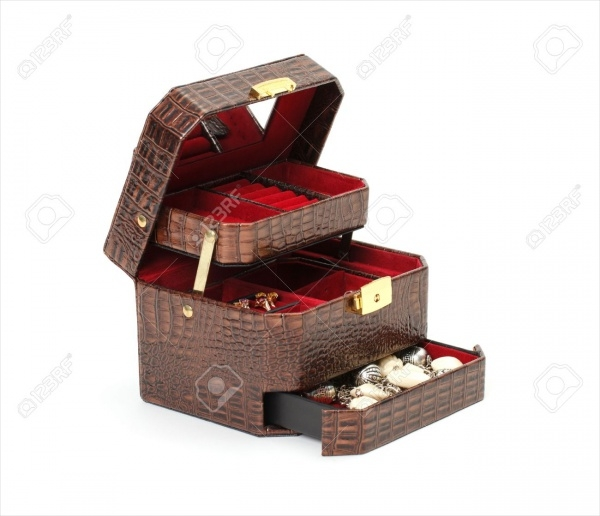 Leather Box for Jewelry Packaging