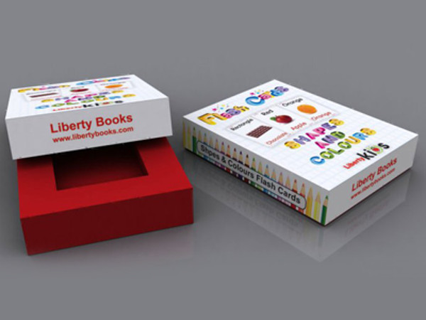 Liberty Books Packaging Design