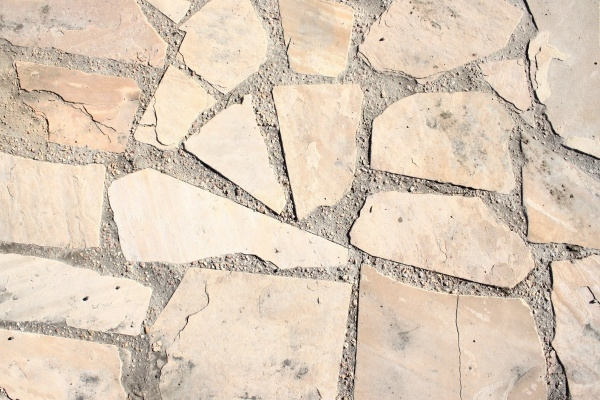 Light Colored Flagstone Sidewalk Texture