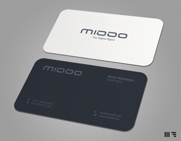 MIDDO Corporate Business Card Design