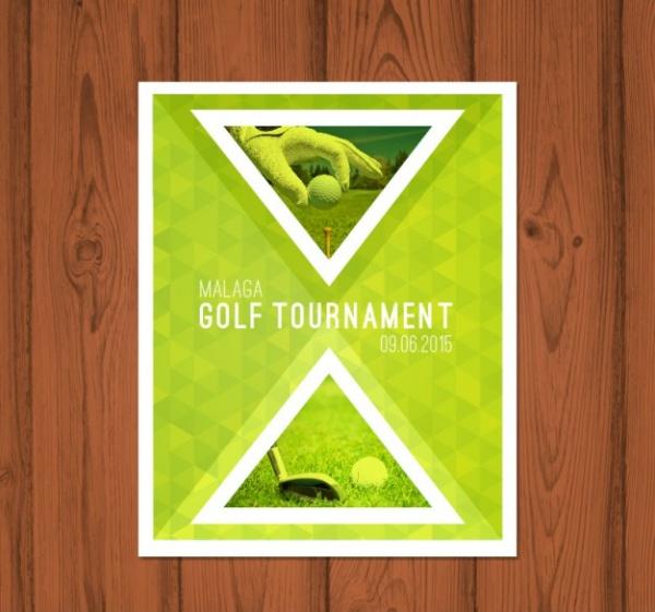 Malaga Golf Tournament Brochure Design