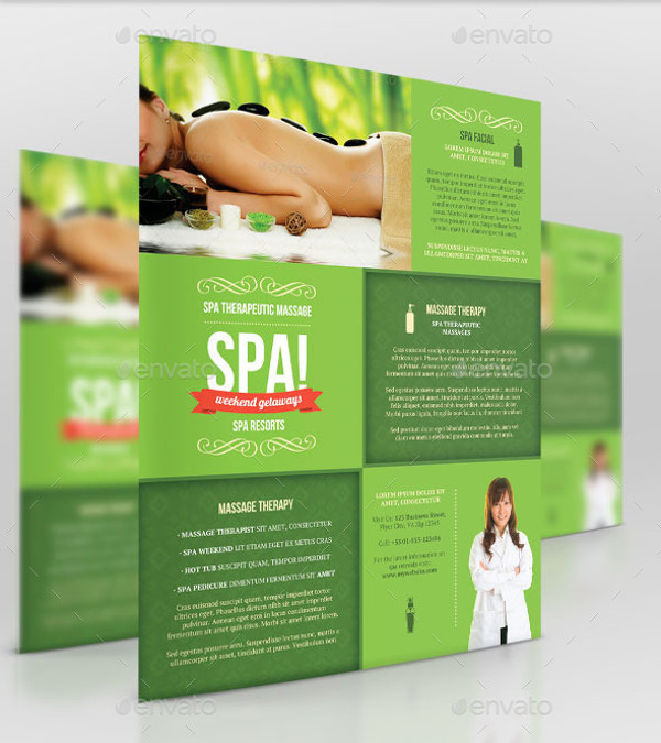 Massage Business Flyer