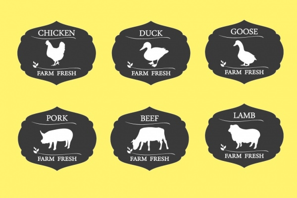 Meat Labels & Badges