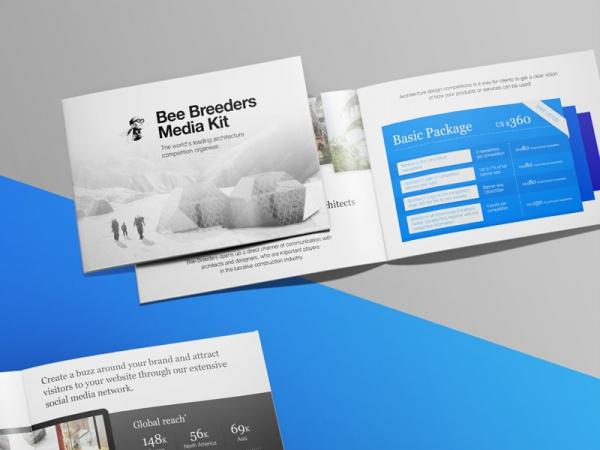 Media Kit Presentation Brochure