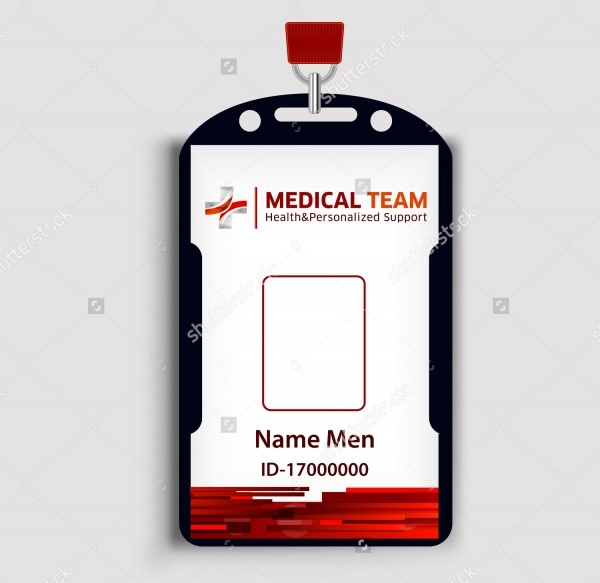 Medical ID Card Design
