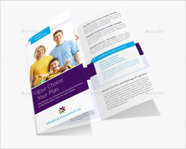 Medical Insurance Brochure Design
