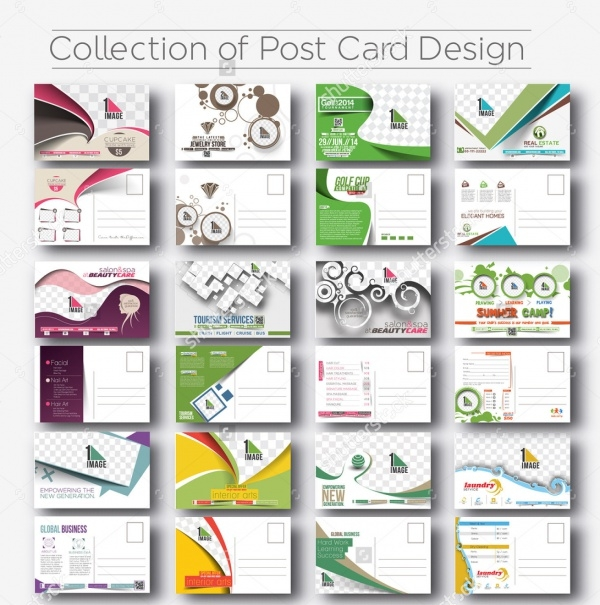 Mega Collection of Postcard Design