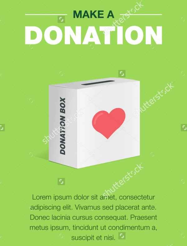 Memorial Donation Invitation Card