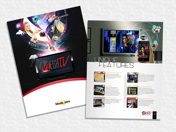 Mesh TV Brochure Redesign