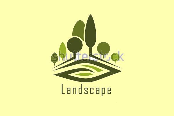 Minimalistic Landscape Logo