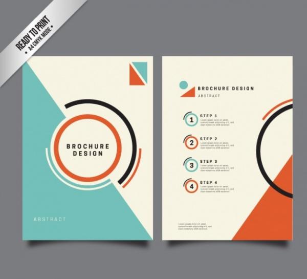 Minimalistic Presentation Brochure Template