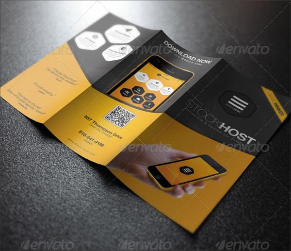 Mobile App Presentation Brochure