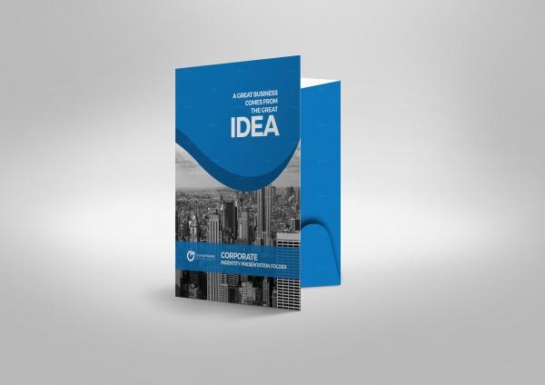 Modern A5 Presentation Brochure