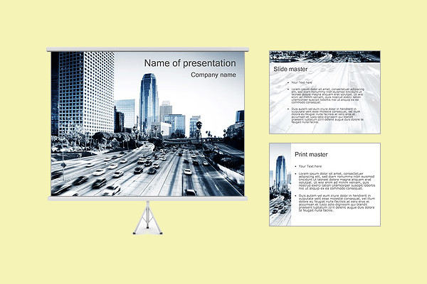 Modern Architecture PowerPoint Template