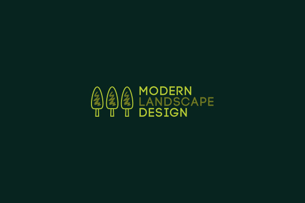 Modern Landscape Design Logo