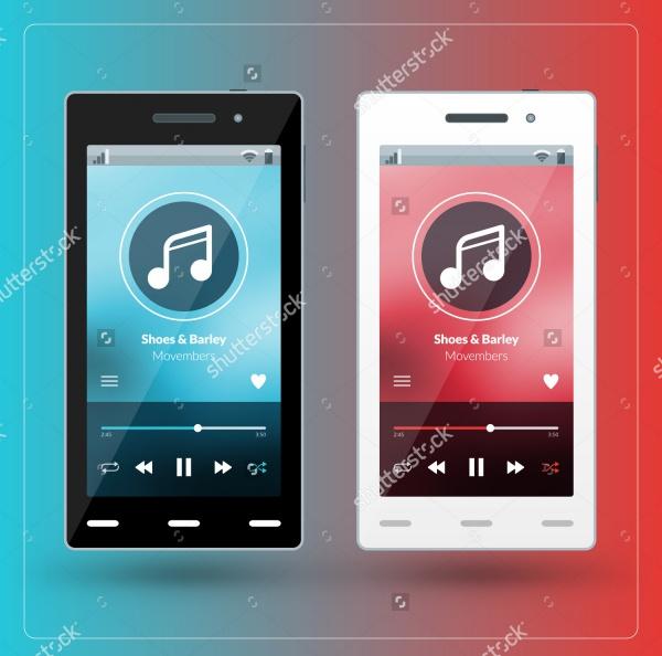 Modern Smart Music App