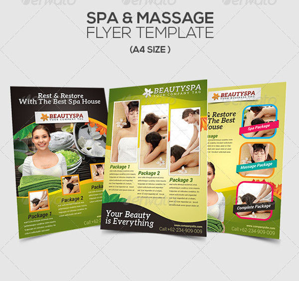 Multipurpose Massage Flyer
