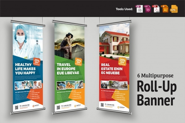 Multipurpose Roll-Up Banner Signage