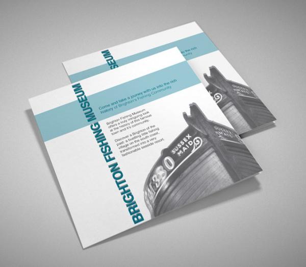 Museum Magazine Presentation Brochure