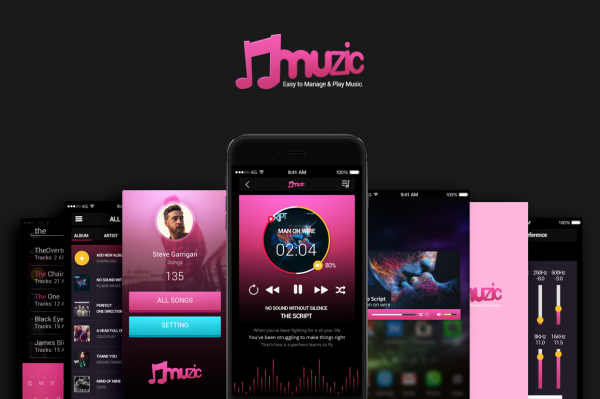 Music App UI Design