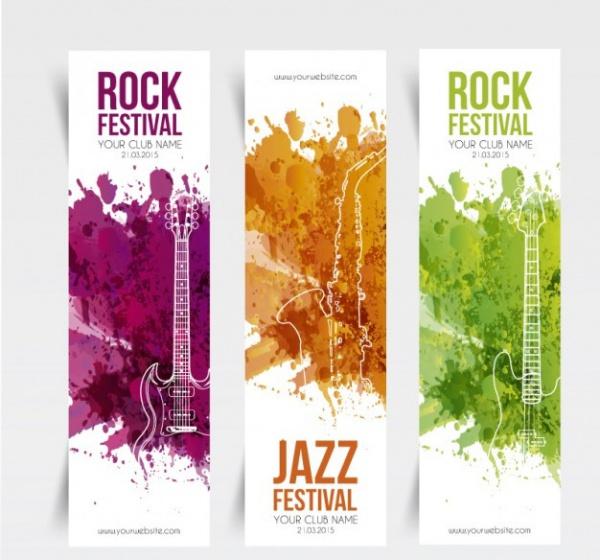 music festival banner design - Banner Design Ideas